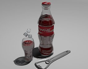 3D asset Coca cola