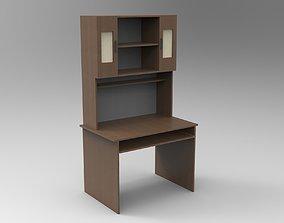 Study Desk 3D model game-ready