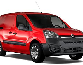 Citroen Berlingo Van L1 2017 3D
