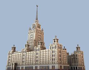 3D model Radisson Royal Hotel