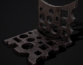 3D model Medieval Blacksmith Swage Block