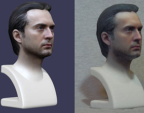 Printable Head Bust