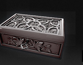 Jewelry Box 3D Model poly