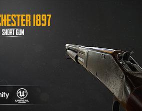 WINCHESTER 1897 3D model