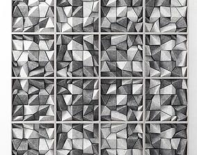 Panel cocnrete angle block 3D model