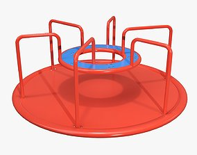 3D model Carousel Merry-go-round 03