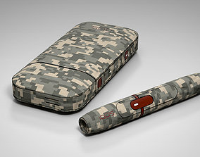 3D model IQOS Camouflage PBR