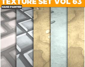 3D asset Floor Vol 63 - Game PBR Textures