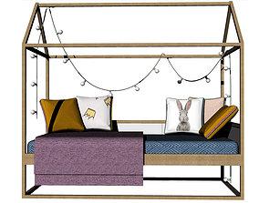 3D print model Child bed furniture