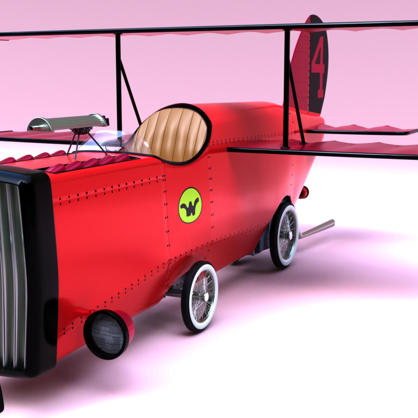 All Wacky Races's Cars