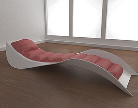 3D model Cosmo Chaise Lounge
