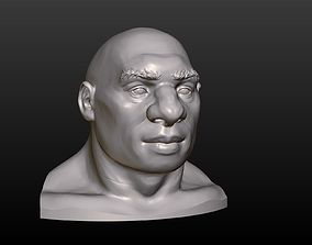 Man Head 3D printable model
