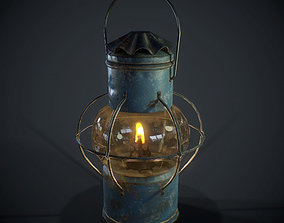 PBR Oil Lantern 3D model