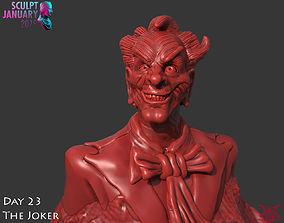 Bust of The Joker Timelapse and Model