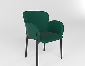 Armchair Ginger 3D model