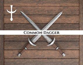 Medieval Common Dagger 3D model