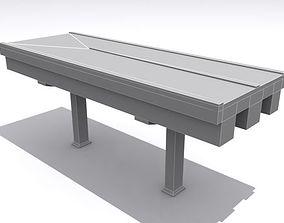 3D model Road And Highway Set Base