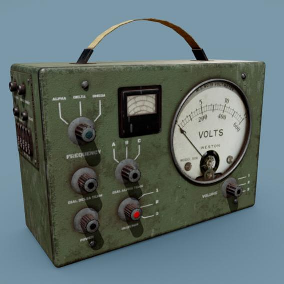 Old Radio Military