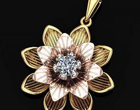 3D printable model Lily flower