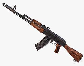 3D asset AK-74 Assault Rifle Model