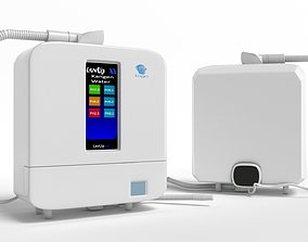 Water cleaning machine ----- kangen water filter----- 3D 1