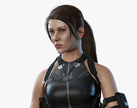 Sci Fi Girl 03 3D model