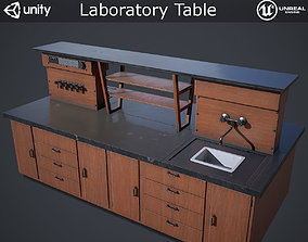 3D asset Laboratory Table