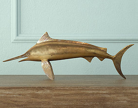 Brass Marlin 3D model