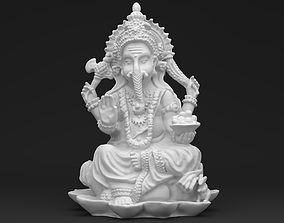 Ganesha - 3D printable Scan - Statue 3D print model