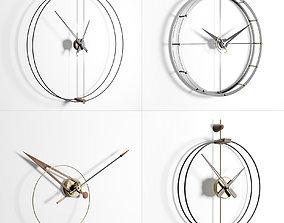 Nomon Clocks Set 3D model