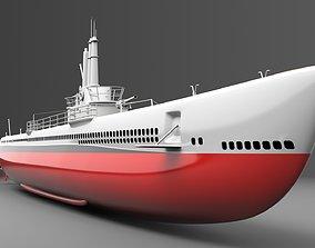 3D Watercraft 4 - Submarine