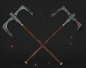 3D asset Cult Old Battle-Axe