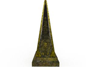 3D asset Ancient Egypt Obelisk