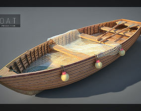 3D model fishing boats