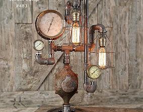Steam lamp 483 3D model