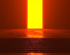 3D model Futuristic sci-fi art The Gateway