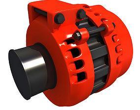 3D Alternator 22 electromotor