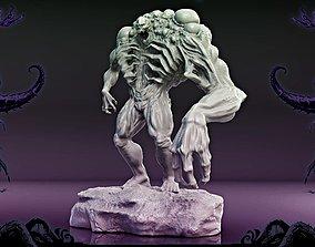 3D printable model monster bubble