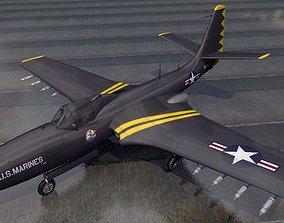 McDonnell FH-1 Phantom 3D