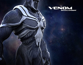 3D print model Venom Space Knight