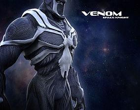 3D print model Venom Space Knight