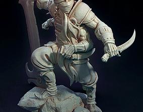 3D print model The Fire Warrior Figurine