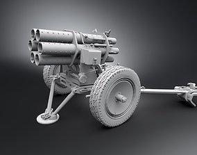 war 15cm Nebelwerfer Scale model