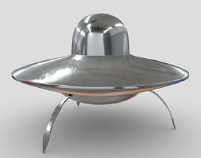 CC0 - UFO 3D model
