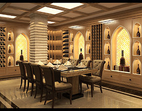 3D model Wine cellar indian