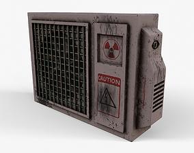 3D model realtime Air Conditioner ventilation