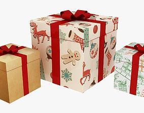 3D asset christmas gifts