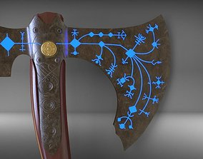 Leviathan Kratos Axe from God of War 3D printable model