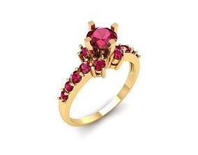 865 Diamond Ring 3D printable model