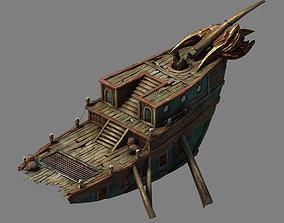 3D Game Steam Harbour - Goblin Breaking 02